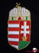 Magyar címer hímzése