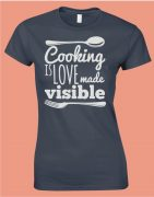 Cooking is LOVE - női póló