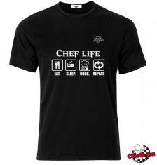 Chef Life póló