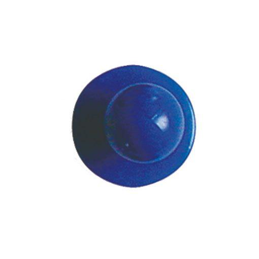 Kék színű szakácskabát gomb 12db