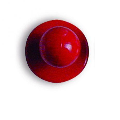 Piros színű szakácskabát gomb 12db