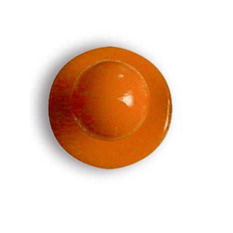 Narancs sárga színű szakácskabát gomb 12db