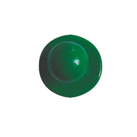 Zöld színű szakácskabát gomb 12db