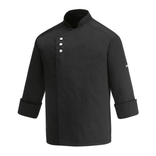 Szakács kabát - METAL - fekete
