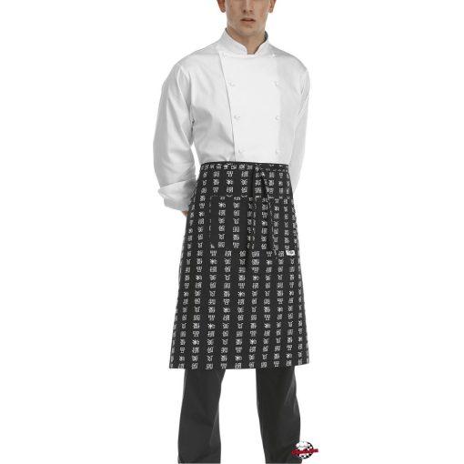 Szakácskötény - kínai mintás