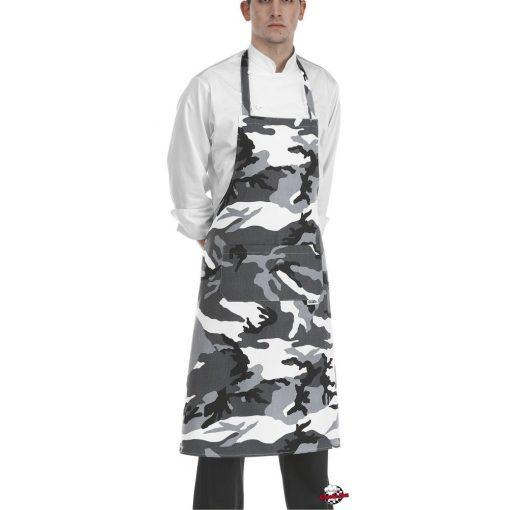 Terepmintás szakácskötény