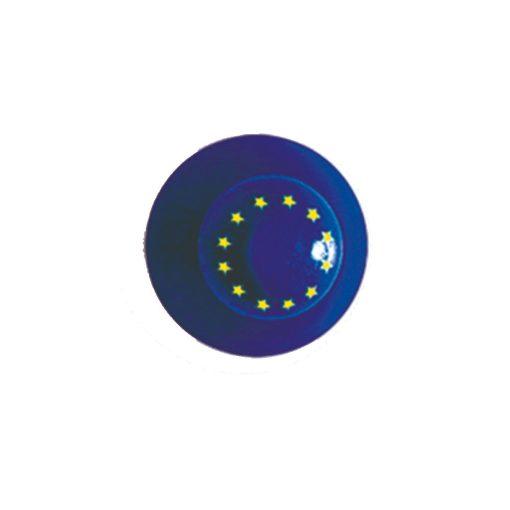 Szakácskabát gomb EU zászlós 12 db