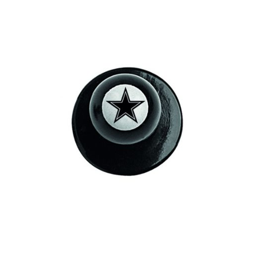 Chef jacket button - with star print