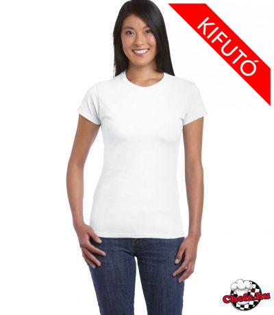 Női póló, fehér