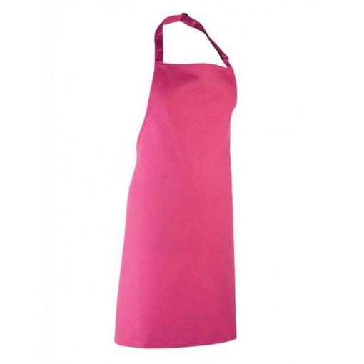 Hot Pink színű állítható kötény, ZSEB NÉLKÜL